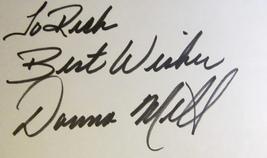 Donna Mills Autographed Signed 3x5 Index Card Coa Knots Landing General Hospital - $13.99