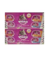 48 x trays Whiskas Pate Chicken Dinner/ Salmon/ Turkey Giblets/ Chicken ... - $75.35