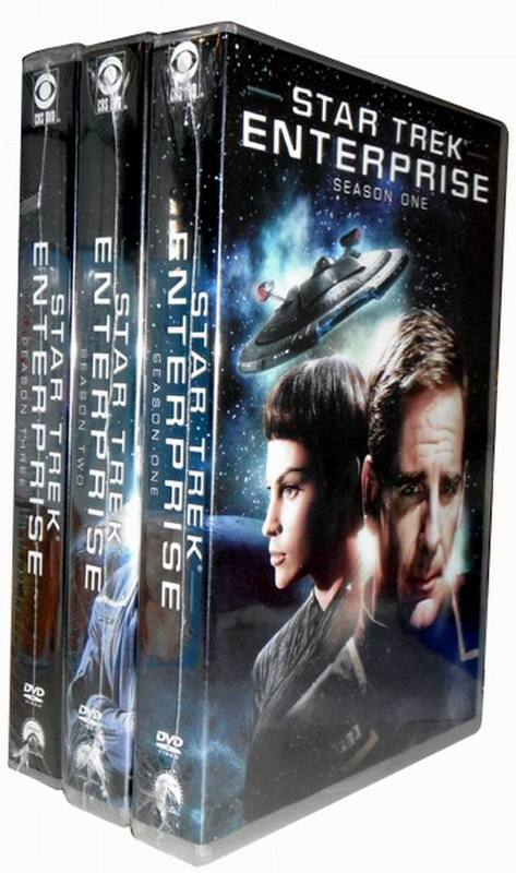 Star Trek: Enterprise: The Complete Series Seasons 1-4 DVD 27 Dsic Free Shipping