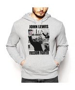 Congressman John Lewis hoodie, memoirs, March, Across That Bridge, Selma... - $49.99