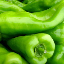 100 Giant pepper Chill seeds Marconi Peppers DIY Home Garden Vegetable Plant - $8.55