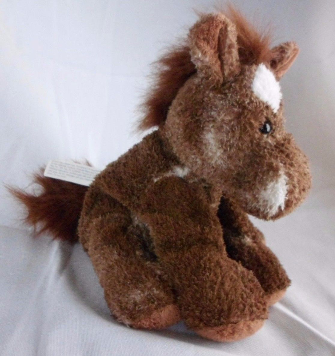 Mary Meyer Sweet Rascals Brown and White Horse Plush Named Sweet Horatio