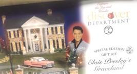 Dept 56 Snow Village Elvis Presley's Graceland ... - $270.22