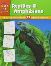 Learn to Draw Reptiles & Amphibians: Learn to Draw and Color 29 Different Reptil - $28.49