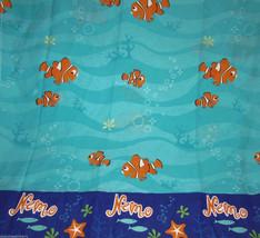 Disney Finding Nemo Twin Sheet Set Flat Fitted Pillow Case Fabric Craft ... - $49.95