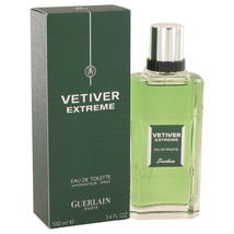 Vetiver Extreme by Guerlain Eau De Toilette Spray 3.4 oz - $52.95