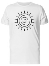 Sun With Half Circles Men's Tee -Image by Shutterstock - $9.86+