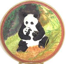 Panda Bear Collector Plate 3D Rock a Bye Vintage Bradford Exchange Will ... - $59.95