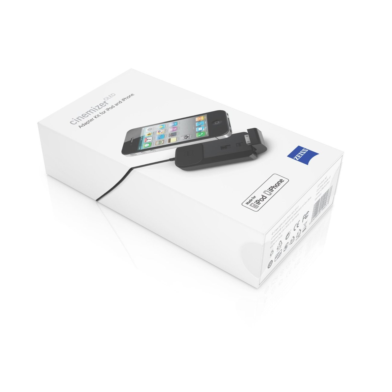 Zeiss Cinemizer OLED 3D iPack including iPhone adapter