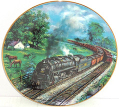 Train Plate Kentucky Red River Valley Railways Hamilton Collector Retire... - $59.95