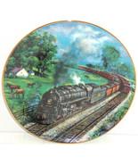 Train Plate Kentucky Red River Valley Railways Hamilton Collector Retire... - $59.95