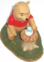 Disney Winnie Pooh Figurine Welcome Little One Baby Bird Friends - $69.25