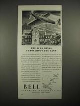 1940 Bell Airacuda, Airacobra, Airabonita Plane Ad - $14.99