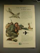 1956 Douglas A4D Skylark Plane Ad - Fly Close Support! - $14.99