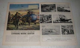 1952 United Aircraft Corporation Ad - Marine Aviation - $14.99