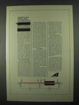 1967 Avco Corporation Ad - Getting Boron Atoms Together - $14.99