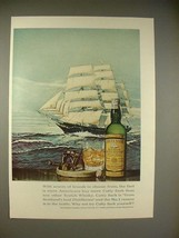 1966 Cutty Sark Scotch Whisky Ad - Scores of Brands - $14.99