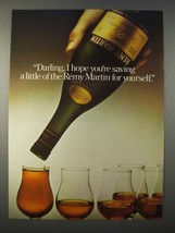 1978 Remy Martin Cognac Ad - Saving For Yourself - $14.99