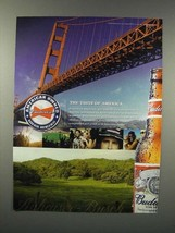 2005 Budweiser Beer Ad - Taste of America - $14.99