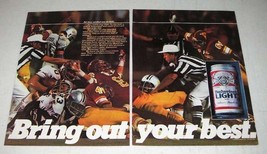 1983 Budweiser Beer Ad - Bring Out Your Best - $14.99