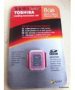 Toshiba 8gb SDHC Class 4 Memeory Card - $5.00