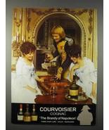 1977 Courvoisier Cognac Ad - $14.99