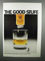 1971 Old Grand Dad Whiskey Ad - Good Stuff - $14.99