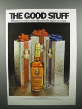 1971 Old Grand Dad Whiskey Ad - $14.99
