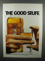 1971 Old Grand Dad Whiskey Ad - The Good Stuff - $14.99