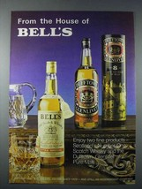 1977 Bell's Scotch Ad - Dufftown Glenlivet Pure Malt - $14.99