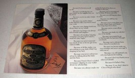 1986 Cutty Sark Scotch Ad - I've Known You All My Life - $14.99