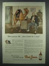 1943 Paul Jones Whiskey Ad - Normal for a Camel - $14.99