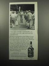 1989 Jack Daniel's Whiskey Ad - Visit Distillery - $14.99