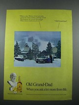 1976 Old Grand Dad Bourbon Ad - More From Life - $14.99