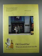 1976 Old Grand Dad Bourbon Ad - $14.99