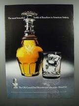 1975 Old Grand Dad Bourbon Ad - Bicentennial Decanter - $14.99