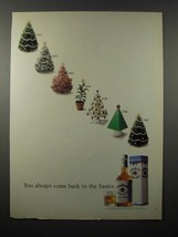 1990 Jim Beam Whiskey Ad - Come Back to the Basics - $14.99