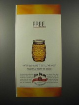 1995 Jim Beam Whiskey Ad - Most Powerful Word - $14.99