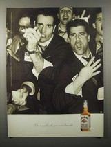 1998 Jim Beam Whiskey Ad - Your Masculine Side - $14.99