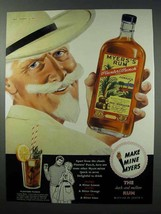 1960 Myer's Planters' Punch Rum Ad - Make Mine Myers - $14.99
