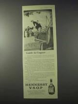 1959 Hennessy V.S.O.P. Cognac Ad - Guide To Cognac - $14.99