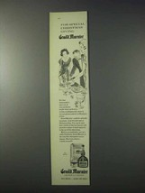 1959 Grand Marnier Liqueur Ad - For Christmas Giving - $14.99