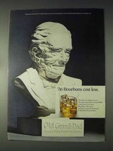 1970 Old Grand Dad Bourbon Ad - 716 Cost Less - $14.99
