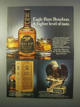 1981 Eagle Rare Bourbon Ad - A Higher Level of Taste - $14.99