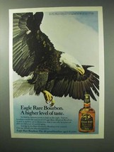 1983 Eagle Rare Bourbon Ad - Higher Level of Taste - $14.99