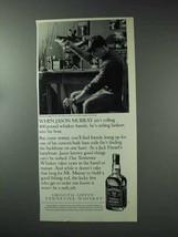1993 Jack Daniel's Whiskey Ad - When Jason Murray - $14.99