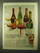 1968 Taylor Champagne Ad - Don't Need a Rule Book - $14.99