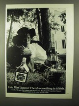 1968 Irish Mist Liqueur Ad - Something In It Irish - $14.99