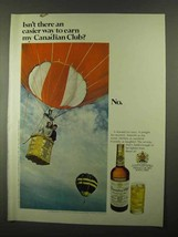 1968 Canadian Club Whisky Ad - An Easier Way - $14.99