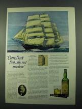 1969 Cutty Sark Scotch Ad - The Rest - $14.99